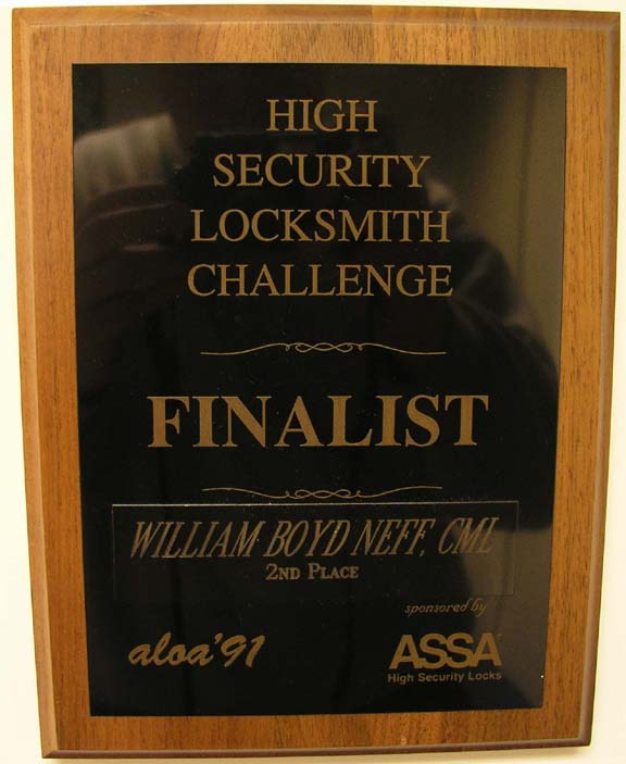 High Security Challenge